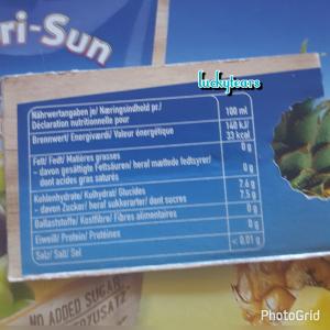 Capri Sonne Inhaltsstoffe